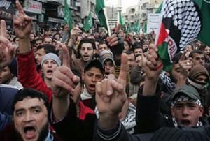 Jordanians-march