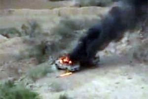 Saudi-Army-vehicle-burns