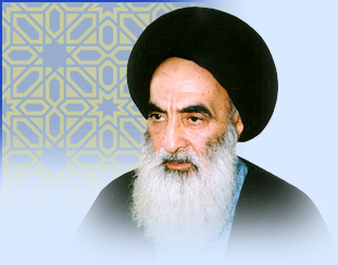 Photo of Iran's speaker meets Ayatollah Sistani in Najaf