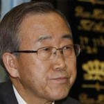 UN chief Ban Ki-moon