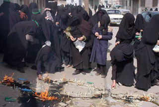 Photo of Chehel Minbar, special tradition to commemorate Tasu'a