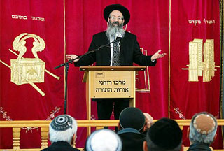 Photo of Rabbis snub Israeli defense minister