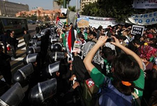 Photo of French Gaza Freedom March activist killed in Cairo