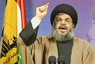 Photo of Stop building steel wall, Nasrallah tells Egypt