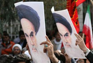 Photo of Figures slam sacrilege of Imam Khomeini portrait