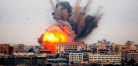 Photo of First anniversary of Zionist War on Gaza civilians
