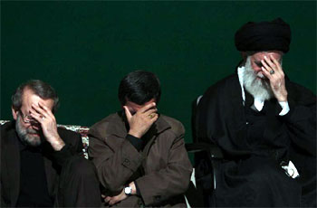 Photo of Leader stages Ashura mourning ceremony