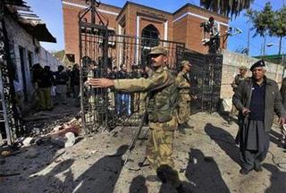 Photo of Pakistan blast turns volleyball game into bloodbath