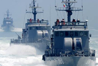 Photo of Koreas exchange fire in disputed sea border