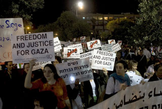 Photo of Peace activists hold demo for Gaza