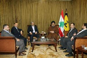 Photo of Sayyed Nasrallah, Meshaal call to give Palestinians civil rights