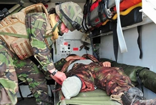 Photo of UK hospitals 'overwhelmed' with Afghan war wounded