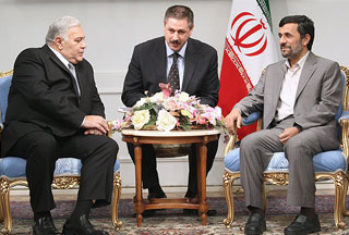 Photo of Ahmadinejad blames powers for spreading insecurity