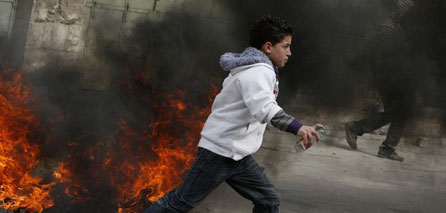 Photo of Clashes erupt in northern West Bank