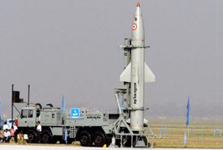 Photo of India's missile shield project fails