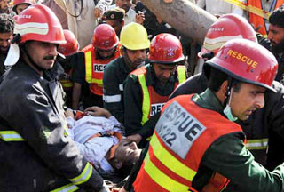 Photo of Twin Lahore bombings kill 45, wounding dozens