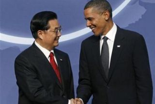 Photo of Chinese, US presidents meet in Canada