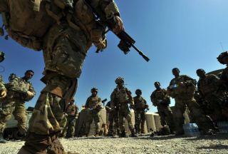 Photo of UK soldier dies of Afghan blast injuries