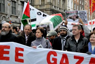 Photo of Vienna protests against Israeli attack