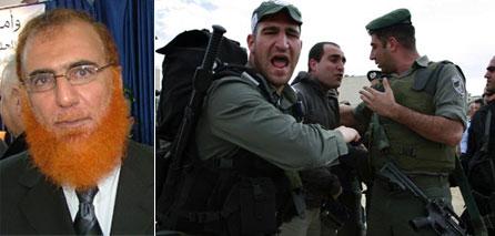Photo of Israeli policemen kidnap Abu Tir