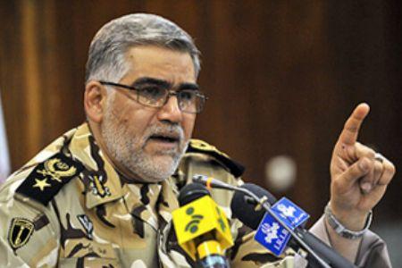 Photo of Iran cmdr. guarantees US shame in ME