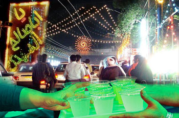 Photo of Muslims celebrate Imam Mahdi (AS) birth anniversary across the world