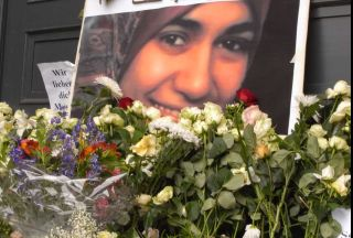 Photo of Veil martyr honored in Germany