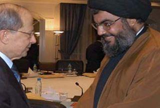 Photo of Nasrallah, Aoun discuss natl. interests