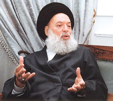 Photo of Grand Ayatollah Fadlallah dies in Lebanon