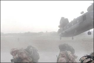 Photo of US helicopter shot down in Afghanistan