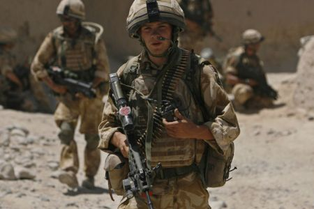Photo of British soldier killed in Afghanistan