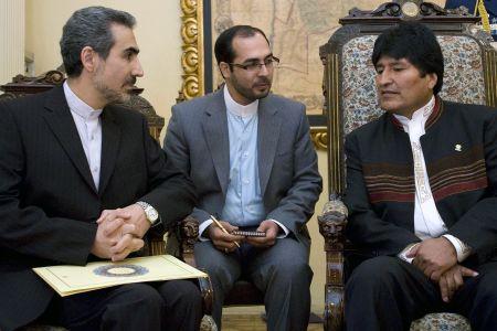 Photo of Iran's 1st envoy to Bolivia meets Morales