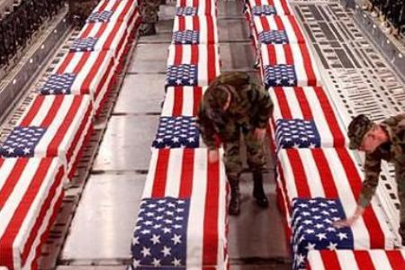 Photo of US deaths in Afghan war hit record