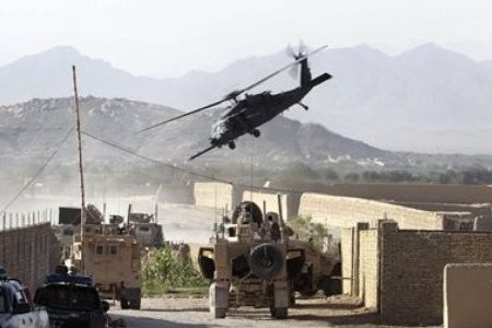 Photo of 9 foreign soldiers die in Afghan chopper crash