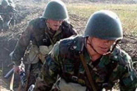 Photo of Azeri soldier killed in Nagorno-Karabakh