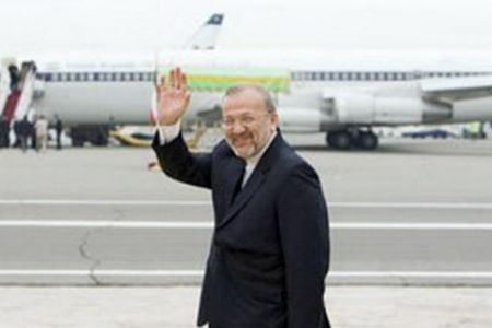 Photo of Iranian FM arrives in Togo