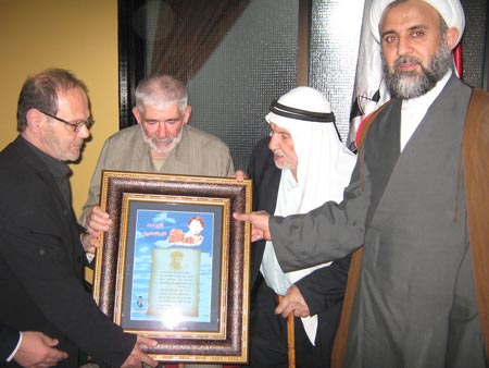 Photo of Shahid Association holdshonorary dinner to Fathers of Martyrs