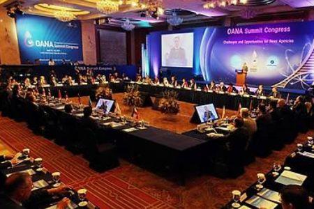 Photo of OANA awards 2 Iranian news agencies