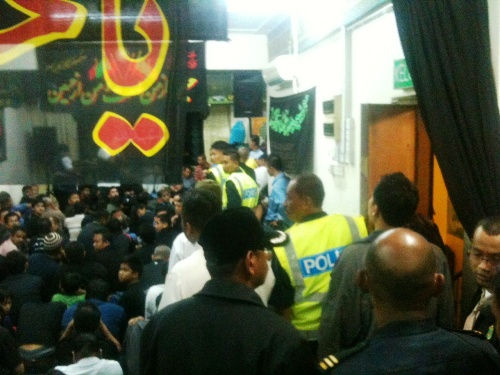 Photo of Malaysian Shias protest discrimination