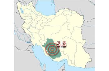 Photo of 5.3-degree quake triggers panic in southern Iran