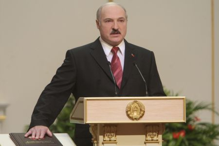 Photo of Belarus leader sworn in for fourth time