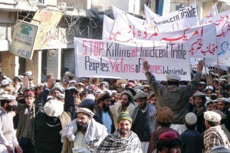 Photo of Massive anti-US rally held in Pakistan