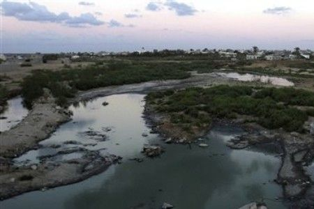 Photo of Israel using Gaza as waste dump