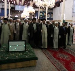 Photo of Members of Assembly of Experts pay tribute to late Imam