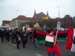 Photo of Pro-freedom activists march in Berlin
