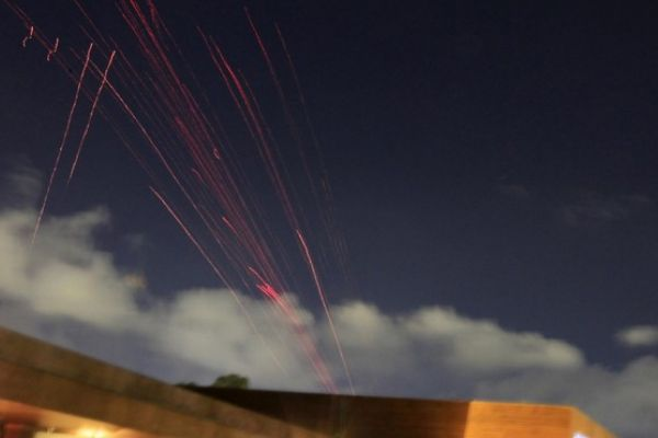 Photo of Anti-aircraft fire over Tripoli's sky