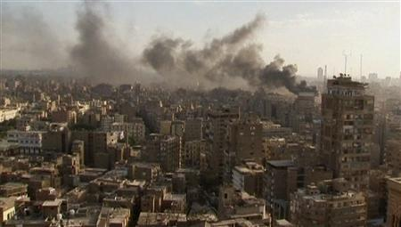 Photo of Fire Tears through Egypt Interior Ministry Building