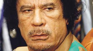 Photo of Israeli Television: Gaddafi is a Jew