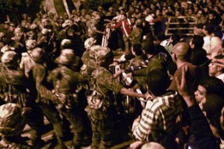 Photo of Mubarak charged with killing Egyptians