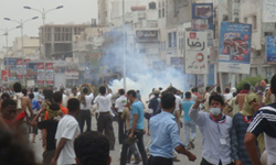 Photo of Large Protests held in Taizz against Regime